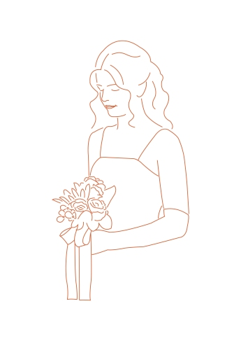 Line Drawing Ella-01